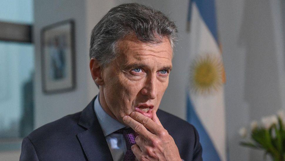 Macri tiene un quiste benigno en el páncreas