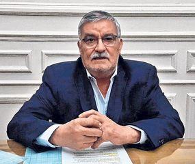 Vicente Gatica, intendente de Bragado.
