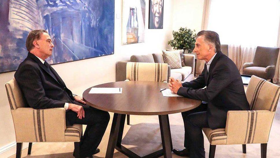 Alternativa Federal visitó a Macri en pleno tironeo con Lavagna