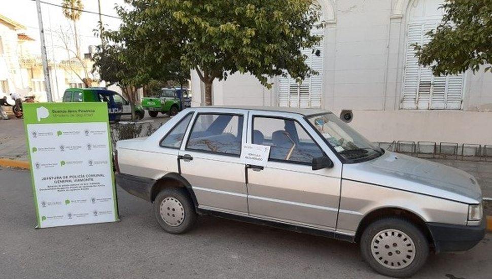 Viamonte: secuestraron un auto con patente trucha