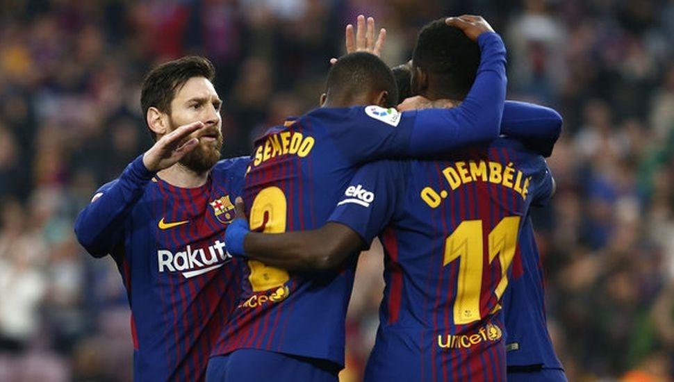 Con un magnífico gol de Messi, Barcelona goleó al Villarreal