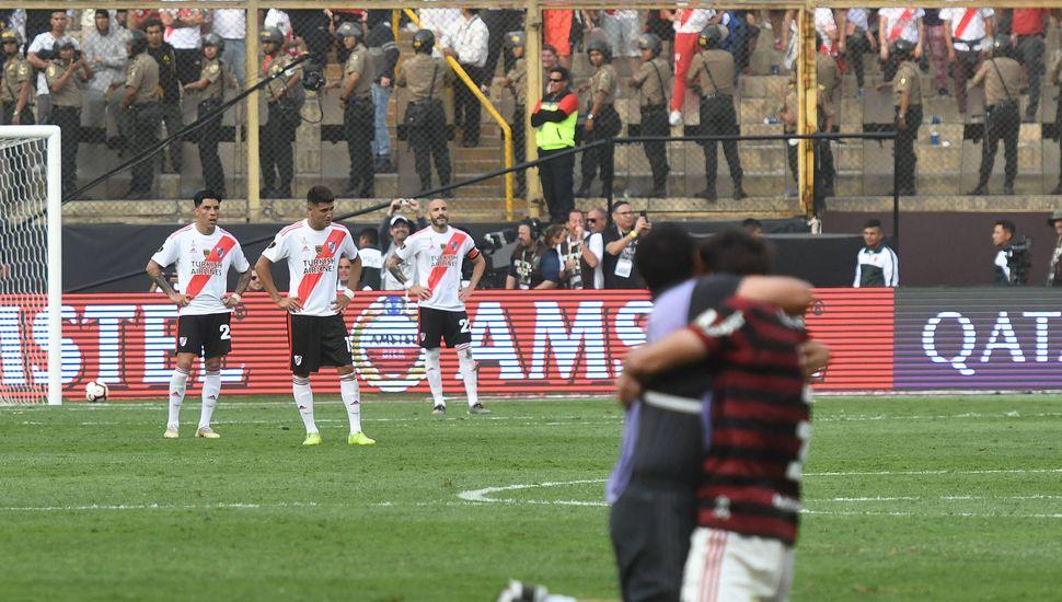 Flamengo dio vuelta el resultado y se quedó con la Copa Libertadores.