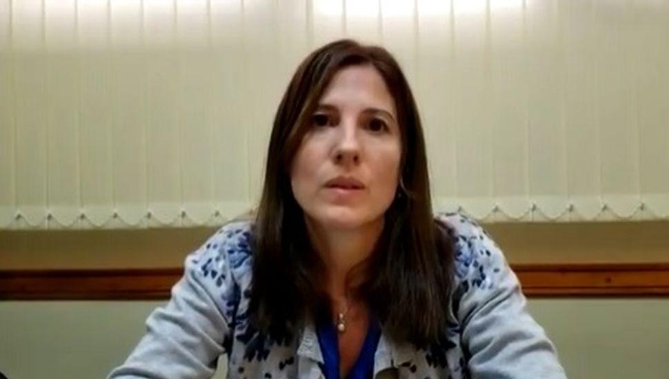 Analía Guilera, jefa del servicio de neonatología y pediatría del hospital municipal.