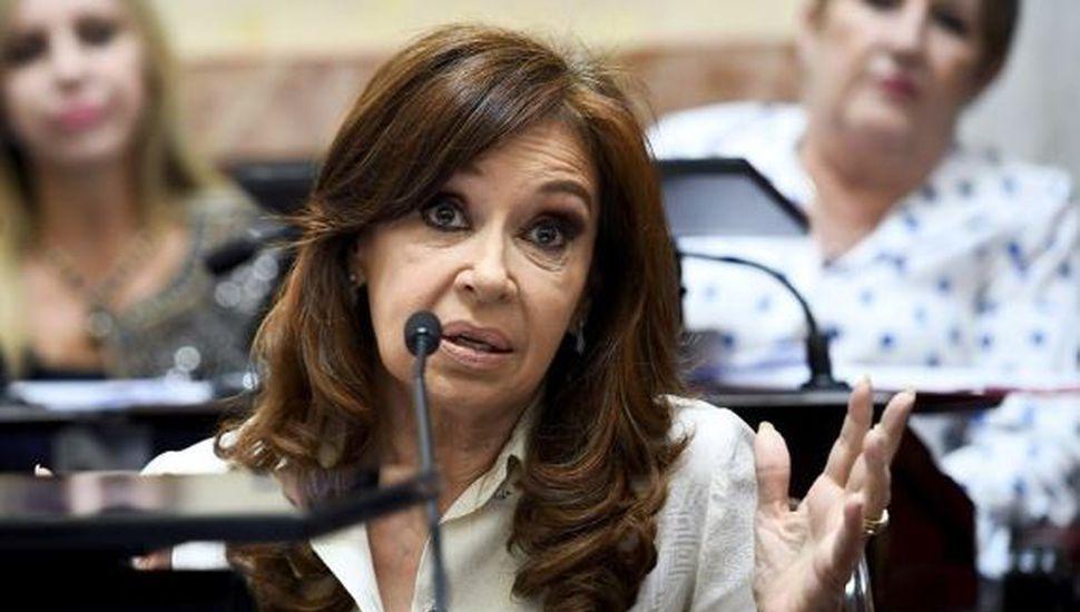 Cristina Kircher anticipó su voto a favor del aborto