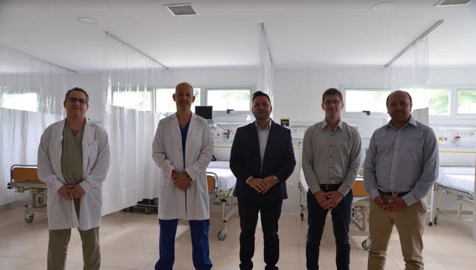 Ponen en marcha la nueva guardia del hospital de Chacabuco