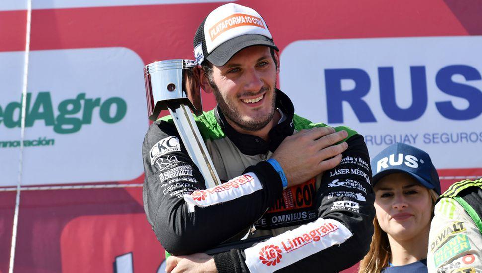 Mangoni ganó su primera carrera en el Turismo Carretera, de punta a punta.