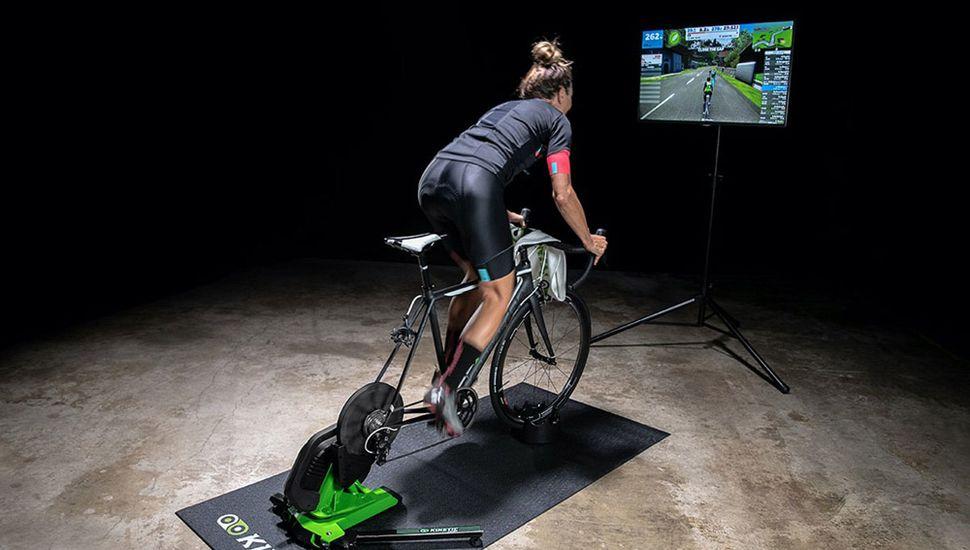 Ciclismo virtual en Argentina.