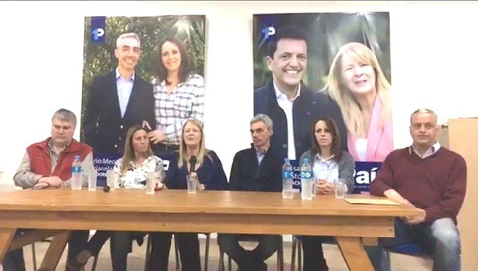 La segunda candidata a senadora nacional en la Provincia estuvo ayer en Junín.