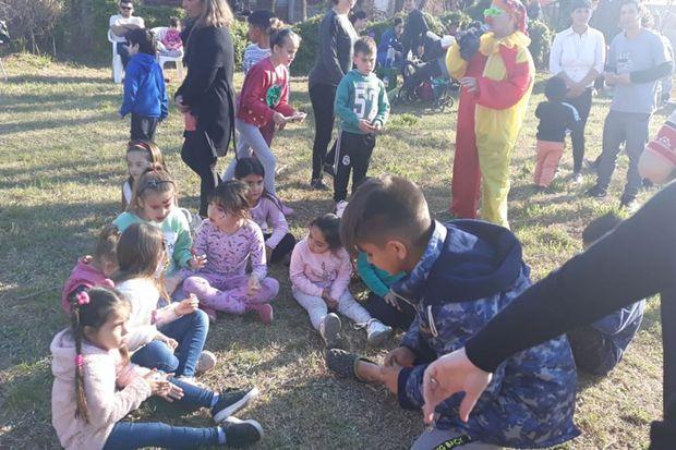 Más festejos del Día del Niño en barrios Las Delicias y San Juan