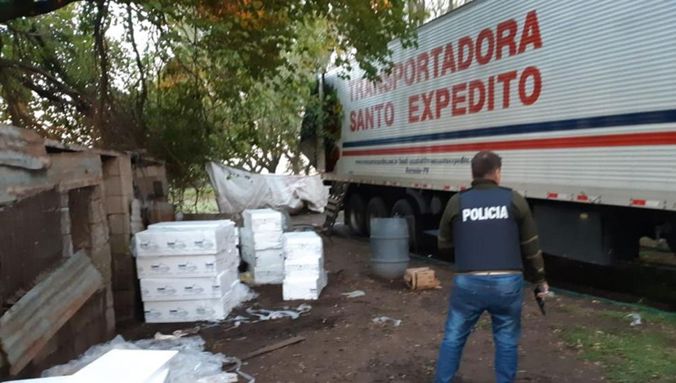 La carga está valuada en más de 15 millones de pesos.
