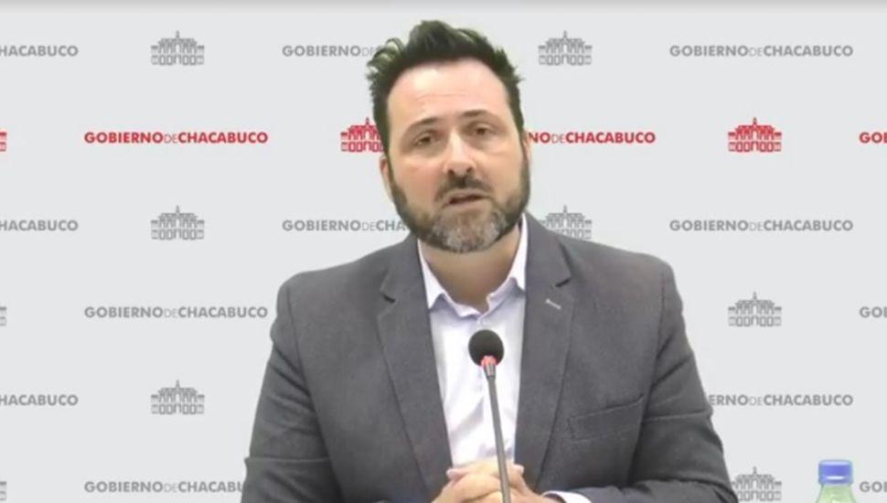 """""""No hay circulación comunitaria de virus en Chacabuco"""""""