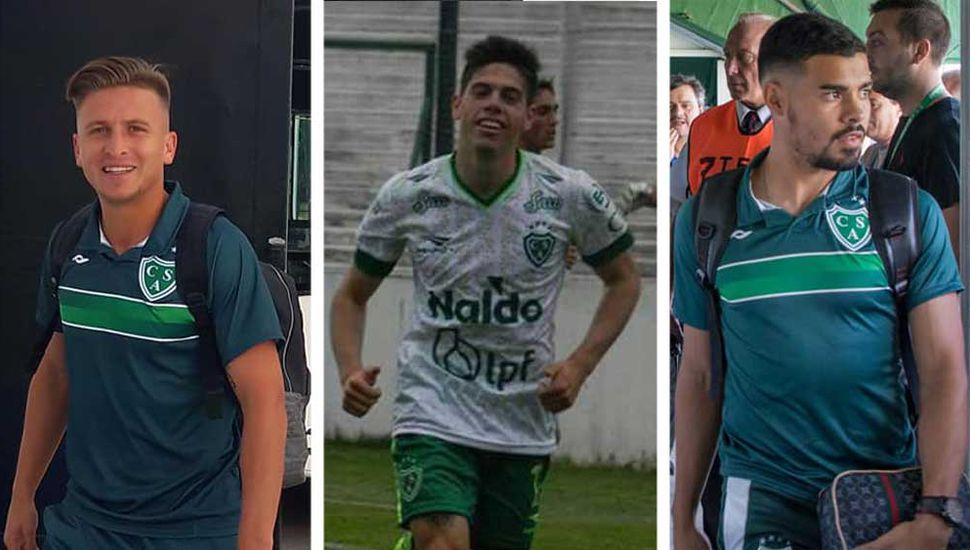 Guillermo Sotelo, Benjamín Borasi, Leonardo Villalba y Sergio Quiroga.