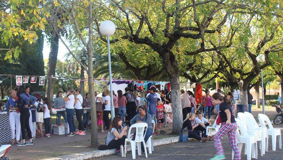 """""""Todos al parque"""", un evento que crece en el distrito"""