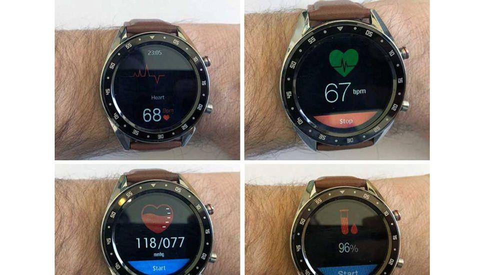 Un reloj inteligente y revolucionario con tecnología ECG