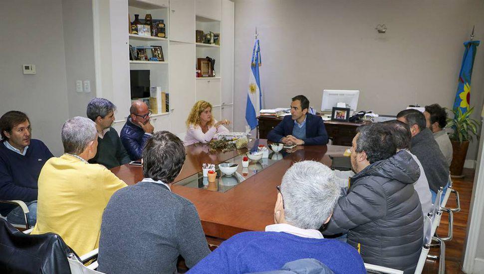 Reunión de las entidades agropecuarias sobre cómo se comercializará la soja