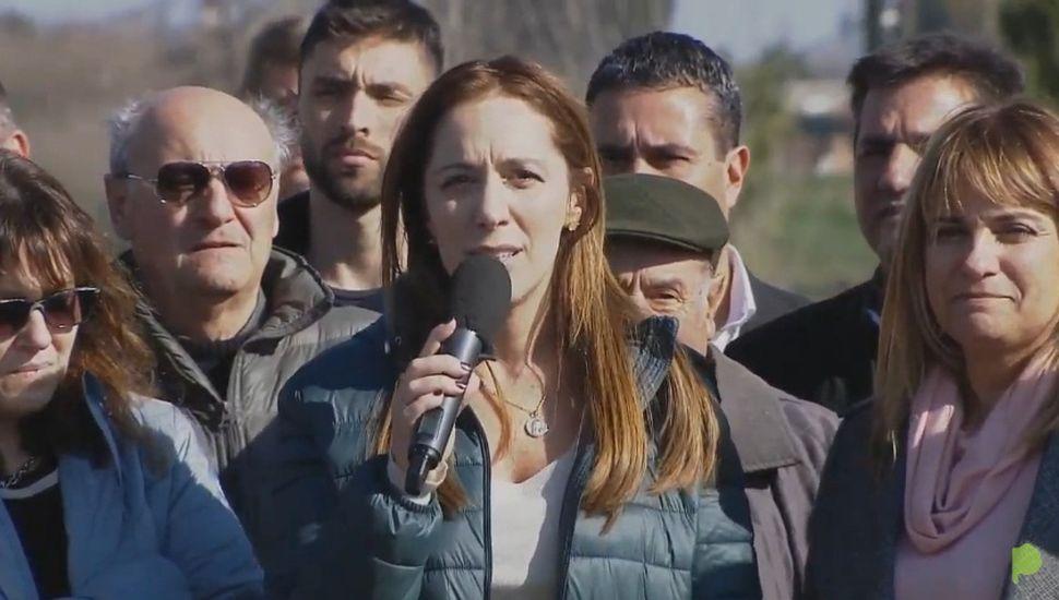 """Vidal en Arenales: """"Hay que elegir entre el pasado del abandono o el futuro de la obra hecha"""""""