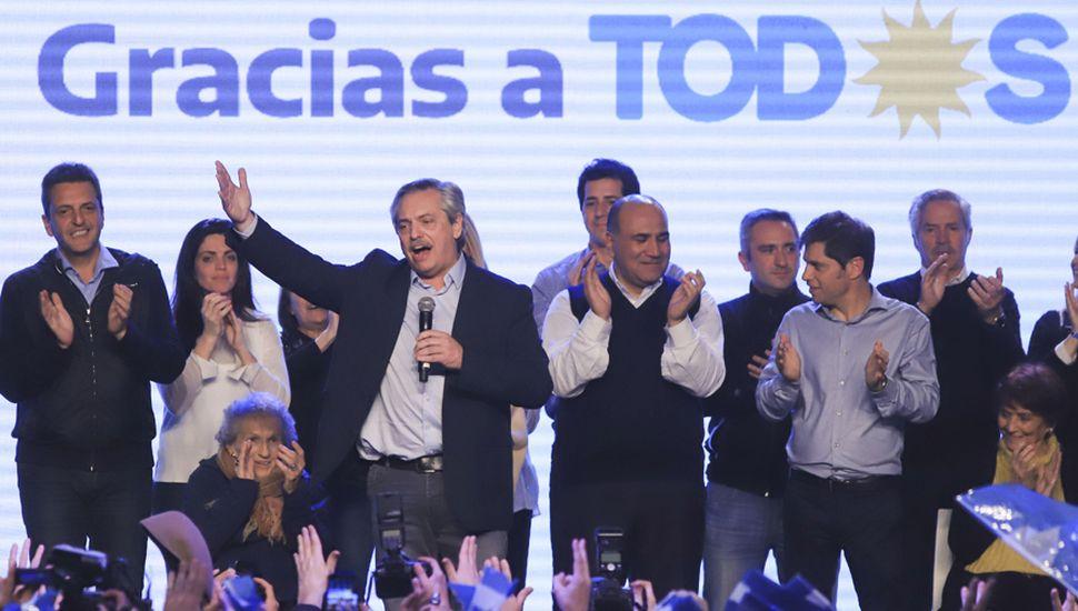 Alberto Fernández, que se perfila como próximo presidente, deberá contener y articular con los distintos sectores que confluyen dentro del peronismo.