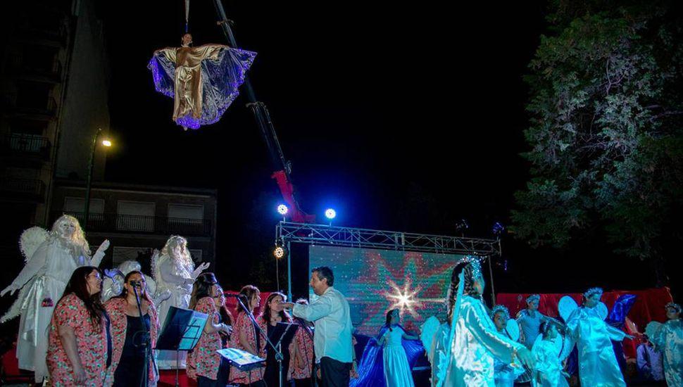La cita es en la plaza Veteranos de Malvinas, en donde habrá espectáculos musicales, plaza blanda y un pesebre viviente.