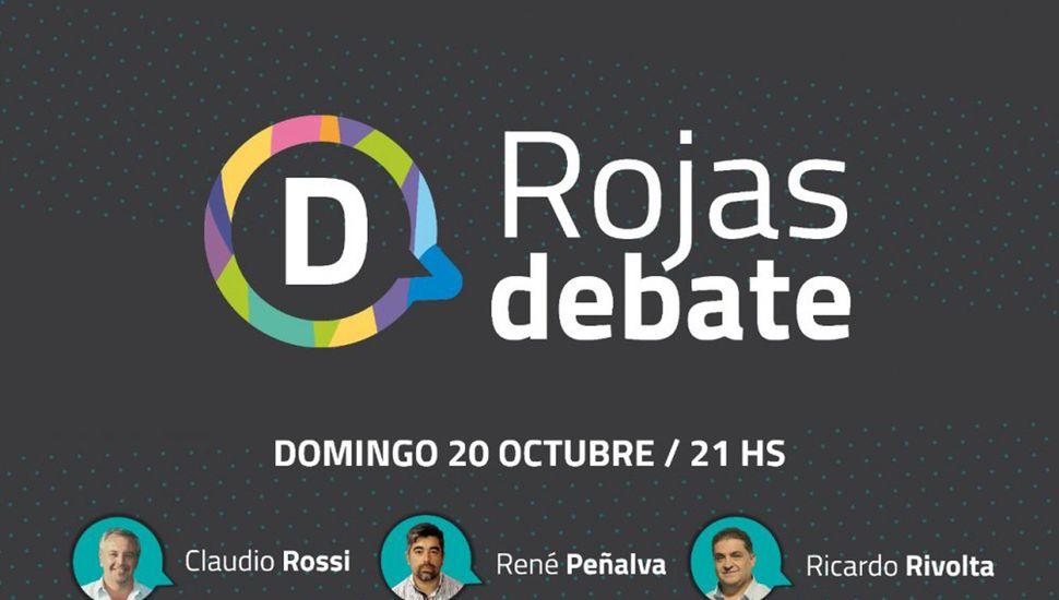 Se realizó el debate entre los candidatos de Rojas: Mirá la transmisión en vivo