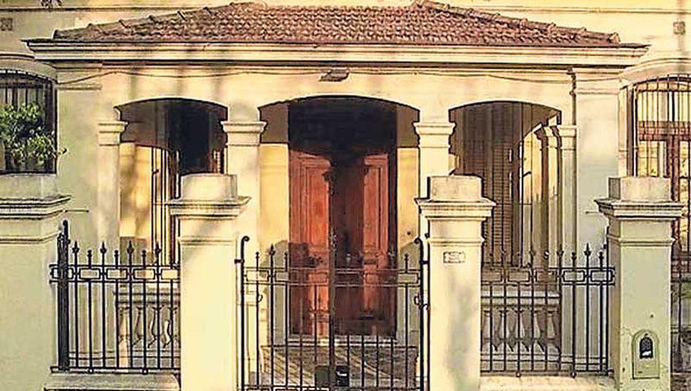 El frente de la nueva sede de Casa Foa.