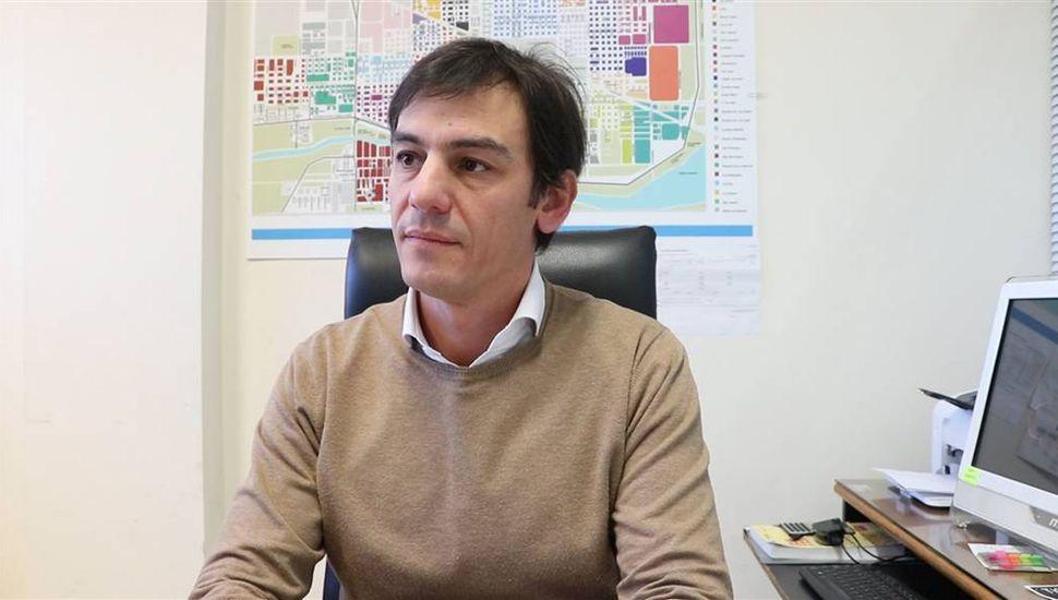 Ariel Díaz, secretario de Hacienda.