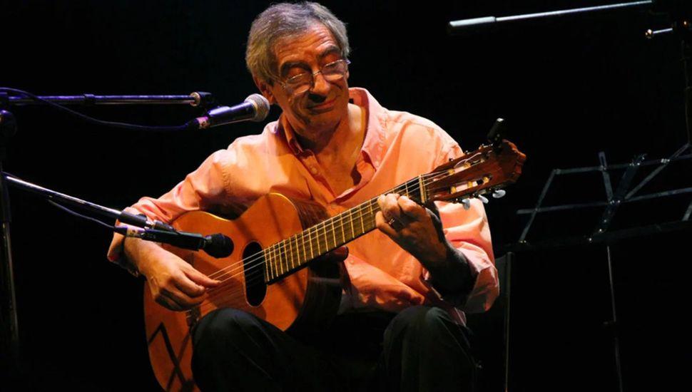 Juan Falú, el director y creador de este gran encuentro internacional de guitarras.
