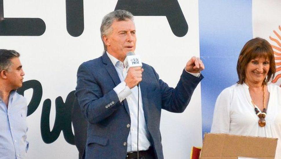 Macri propuso que se implemente la boleta única