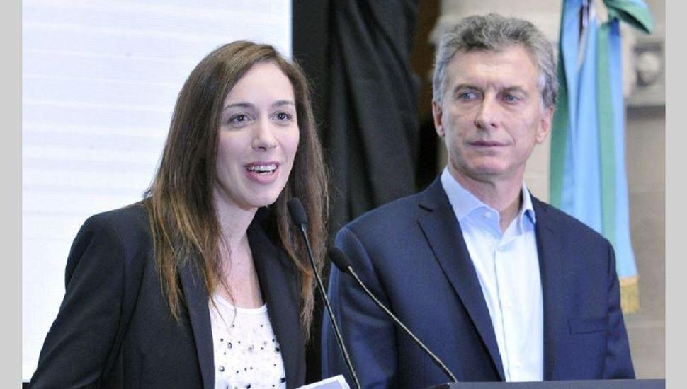 Macri y Vidal, primera  reunión post urnas a solas