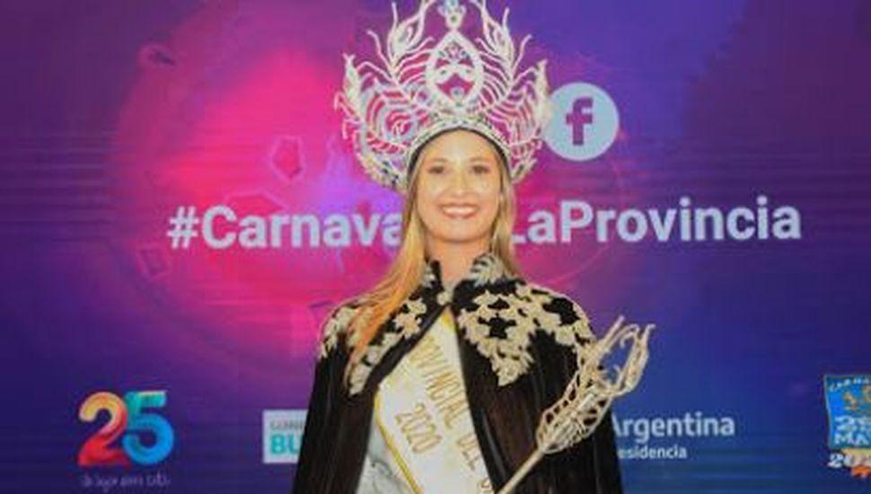 Una bragadense fue elegida reina provincial en 25 de mayo
