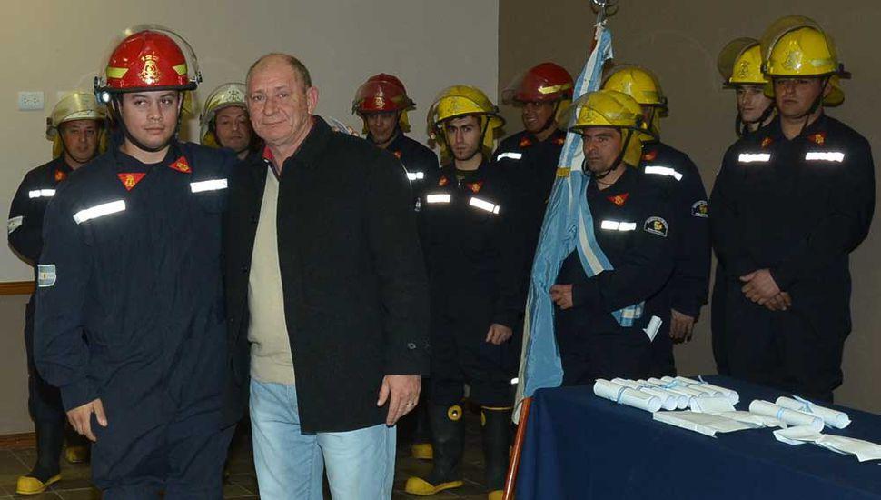 Los queridos bomberos voluntarios de General Pinto festejaron su día