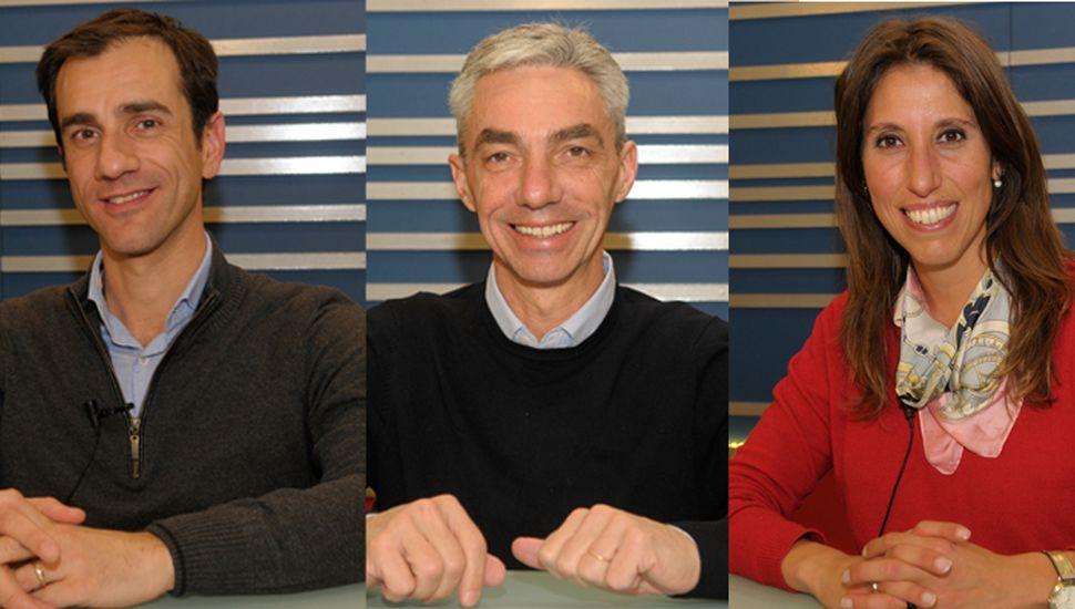 Primarias: Petrecca, Meoni y Muffarotto cerraron la campaña electoral en TeleJunín