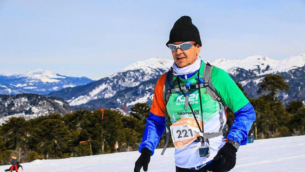 El 26 de agosto corrió los 21 km de Villa Pehuenia, en Neuquén.
