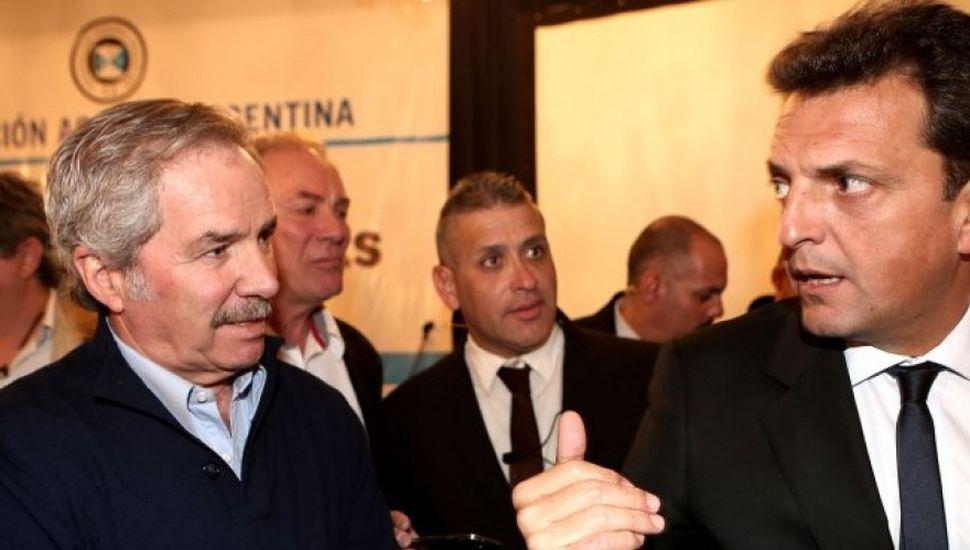 """""""Massa está más cerca de  encabezar la lista de diputados"""""""