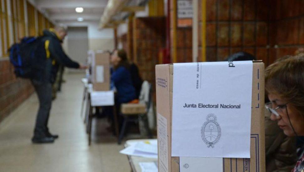 En Junín hay 236 mesas de votación, incluida una de Extranjeros.