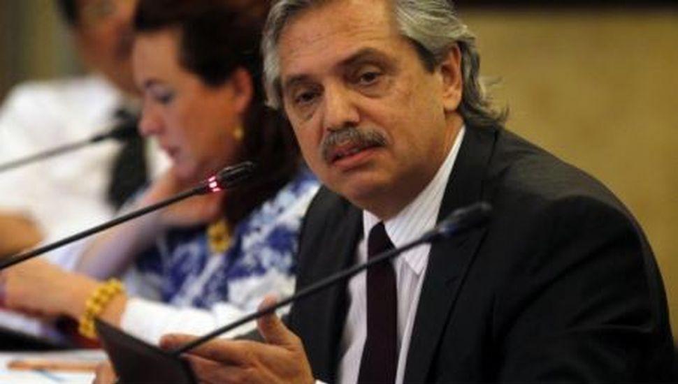 Alberto Fernández respaldó al presidente de la Corte bonaerense