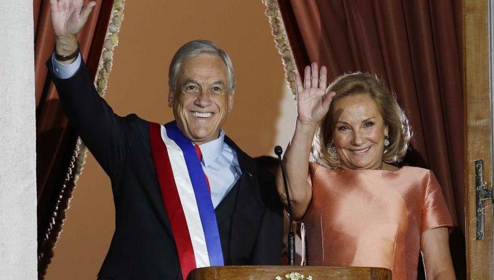"""Se filtró un polémico audio de la esposa de Piñera: """"Parece una invasión alienígena"""""""