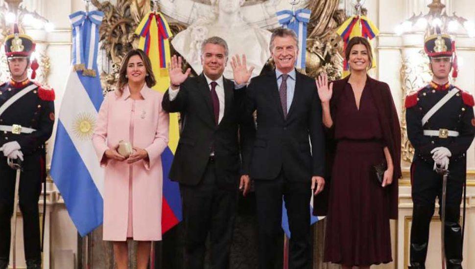 Macri y Duque impulsarán el comercio bilateral