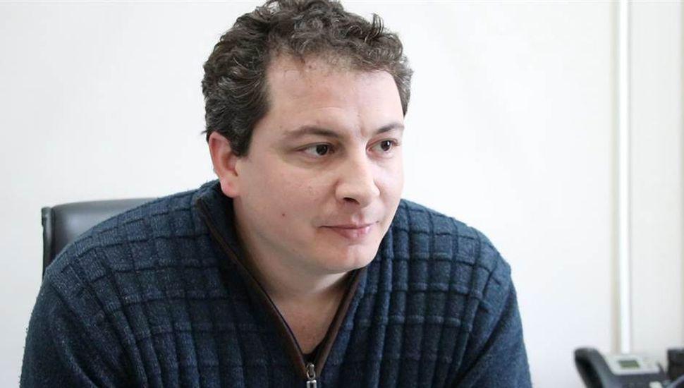 Martín Beligni,  secretario de Coordinación del Municipio.