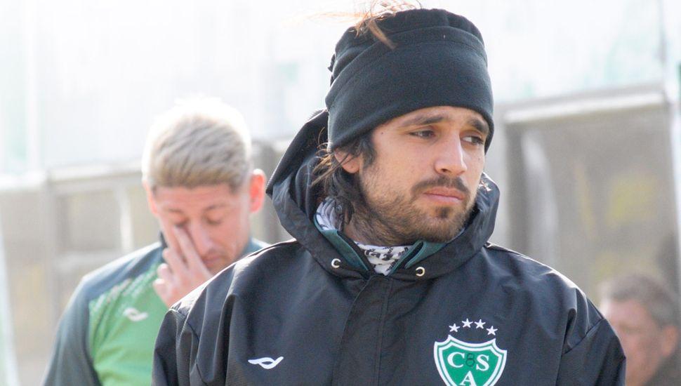 El delantero Pablo Magnín, uno de los refuerzos que llegó al plantel.