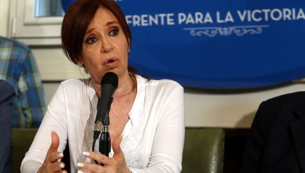 Cristina Kirchner decidió no apelar su  procesamiento por traición a la patria