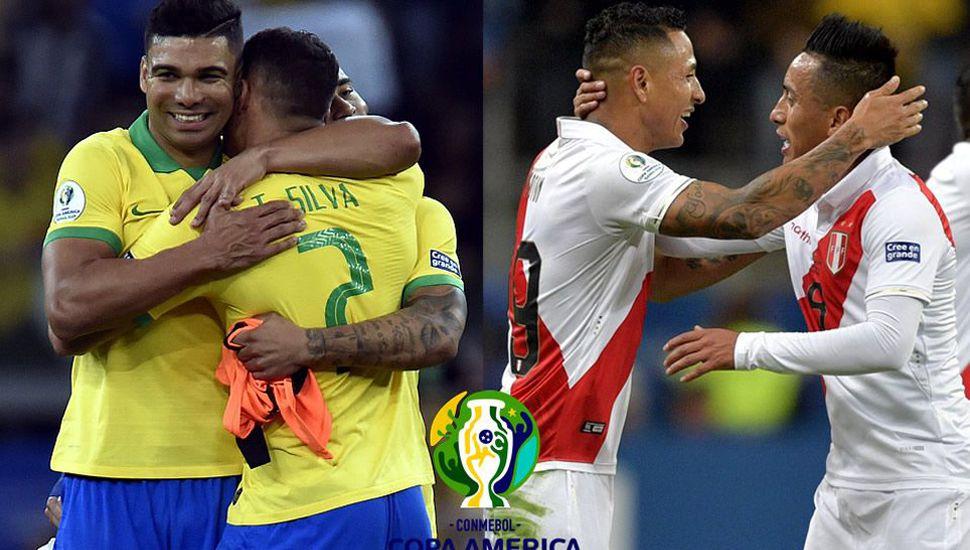 Brasil y Perú juegan la final, hoy, desde las 17.