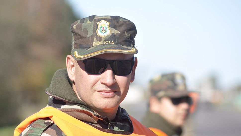 Obdulio Gómez, titular del Comando de Prevención Rural Chacabuco.