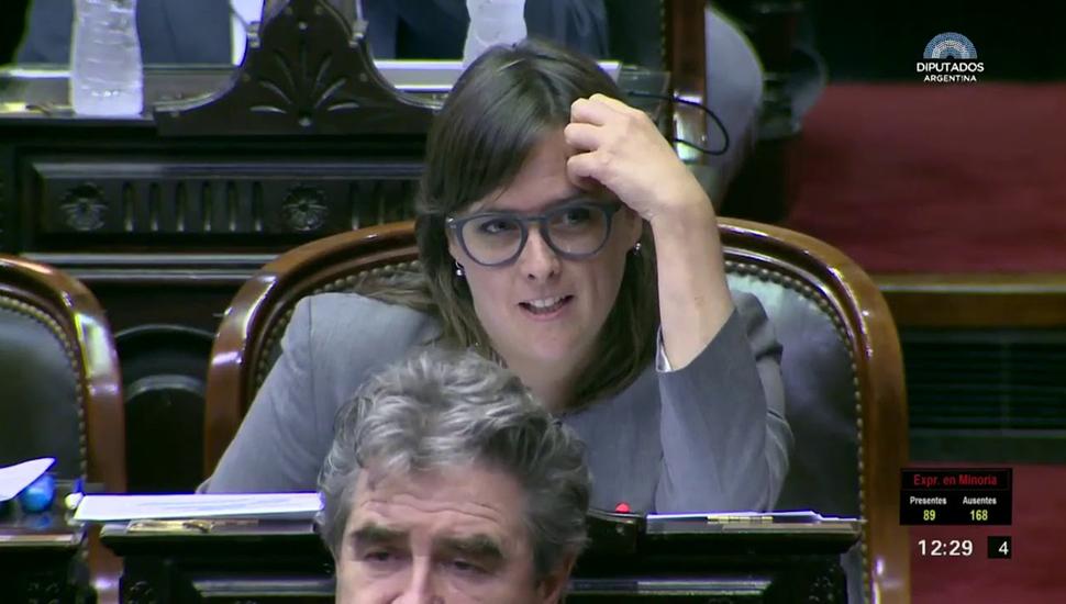 """El fuerte cruce de una radical con """"Lilita"""" Carrió"""