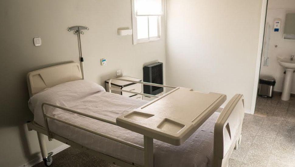Nuevas habitaciones en el hospital de Los Toldos