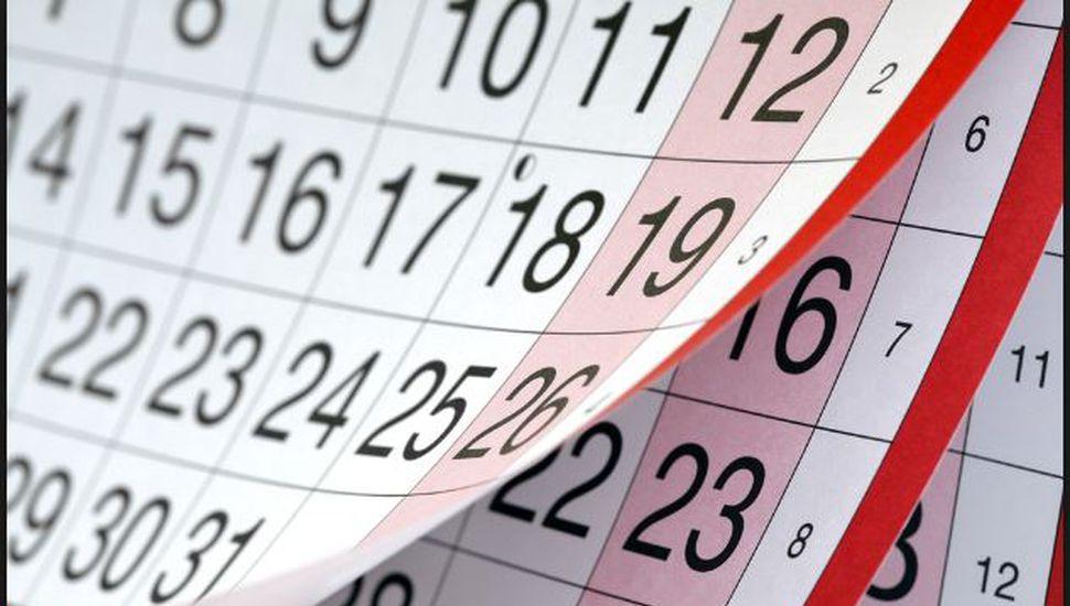 Estos son los feriados definitivos para 2018