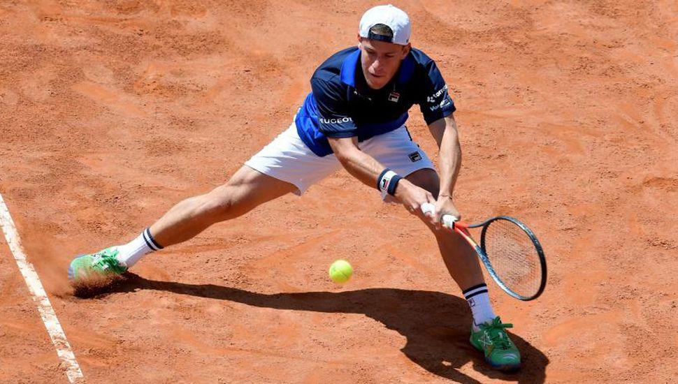 Diego Schwartzman superó al japonés Kei Nishikori y es semifinalista en Roma.
