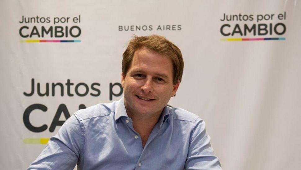 Alex Campbell, precandidato a diputado por la provincia de Buenos Aires.