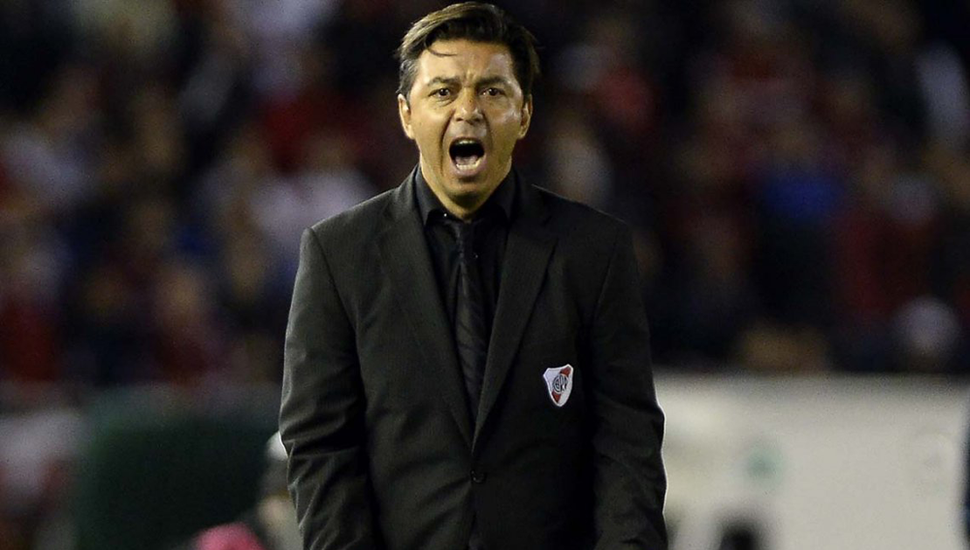 Marcelo Gallardo,  director técnico de River Plate.