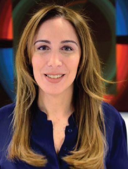 Exgobernadora, María Eugenia Vidal.
