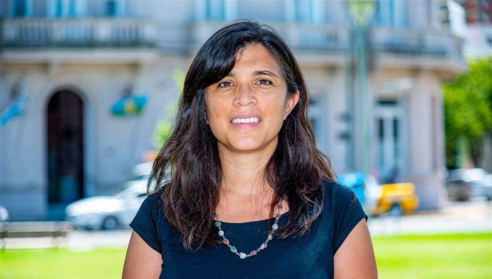 Gabriela Parino, integrante de la secretaría de Salud.